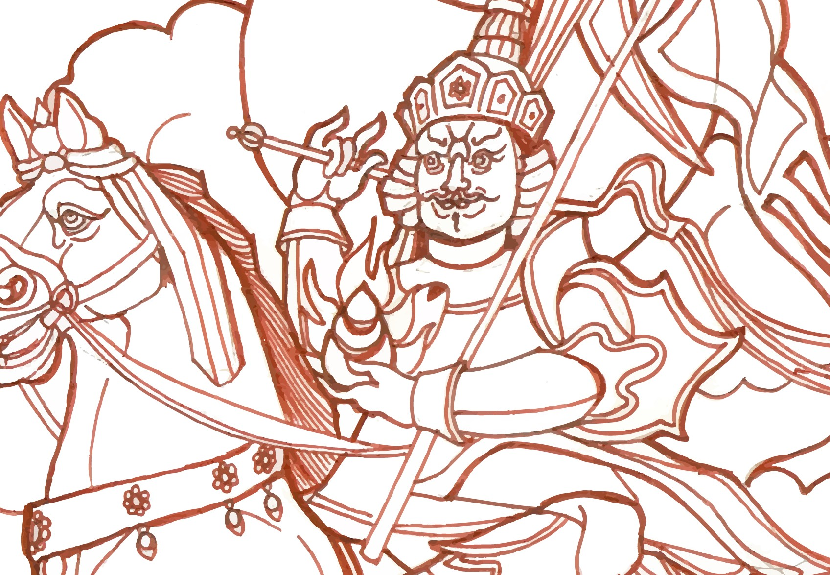 Illustration of Gesar