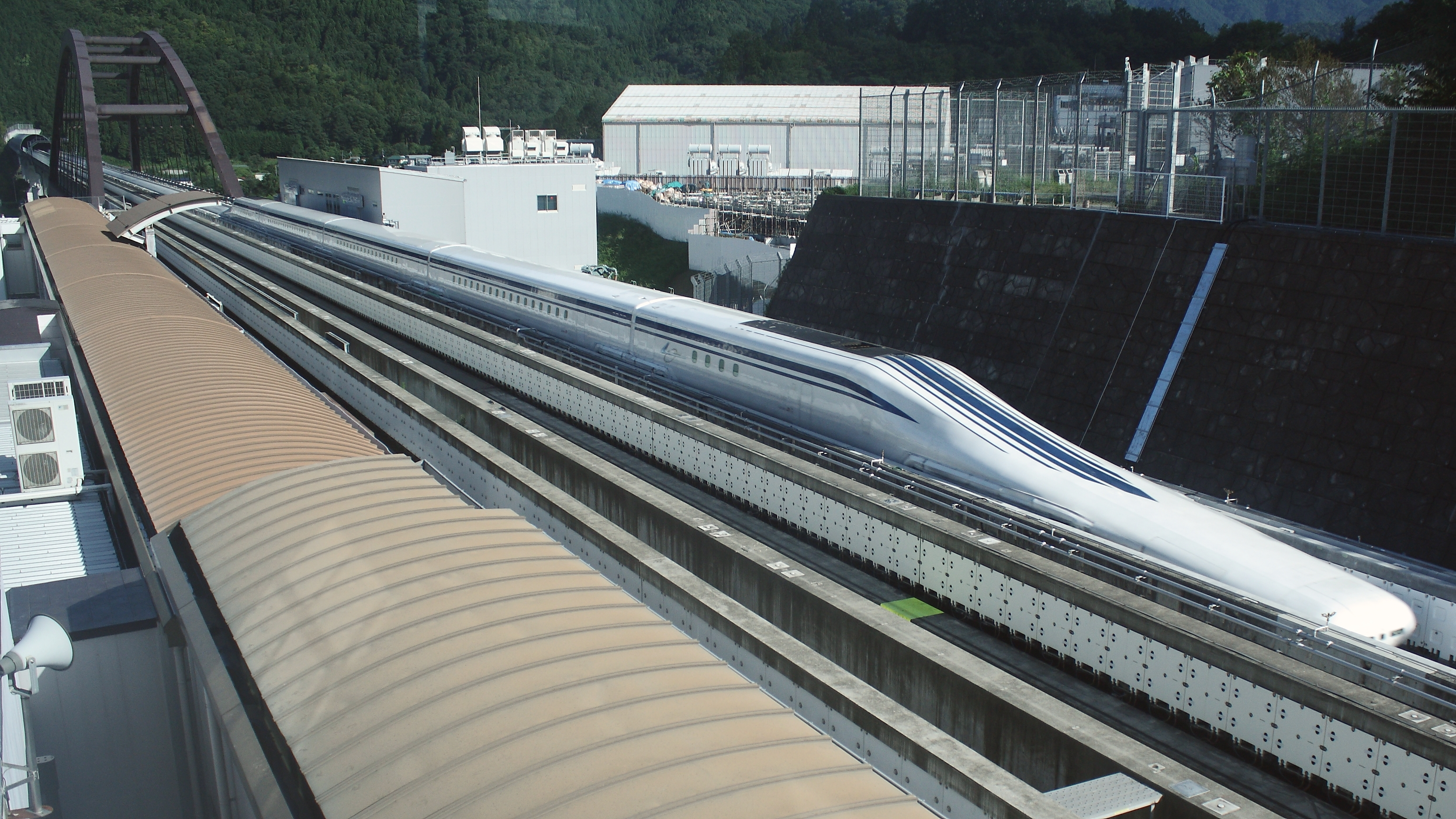photo of Maglev train