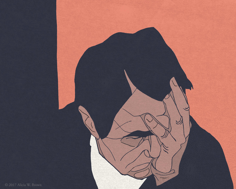 Illustration evoking the Indebted